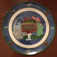 Junior Ranger Plate & Bowl Set New Melamine Ware