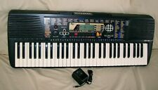 Yamaha PSR-195 Keyboard Synthesizer Stereo Sampled Piano MIDI Education Suite