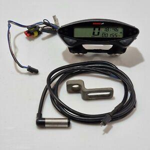 KOSO EX02 Motorcycle Speedometer Speedo, Warning Lights, Speed Sensor Hour Meter
