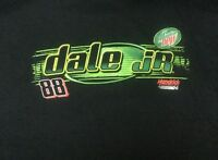 NASCAR DALE EARNHARDT JR # 88  MOUNTAIN DEW SCREEN PRINT T-SHIRT large L c15