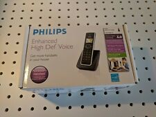 Philips Enhanced High Def Voice DECT6.0 Accessory Handset SE65 Series