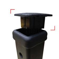 "1Pc Trailer Hitch Receiver Cover Cap Plug Parts Rubber Car Kittings 1-1/4"" Black"
