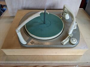 Telefunken Console Turntable Vintage 1950s-60s Record Player