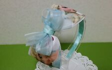 Frozen Elsa Boutique Hair bows Baby Infant Girls Handmade Head band