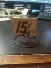 """15c ea Vintage 1930s Country Store Sign & Stand 1.75"""" x 2.25"""""""