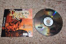 Chronicles Of Pern Dragon Riders (Sega Dreamcast) w/ Manual