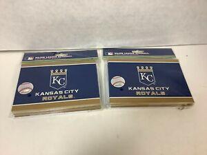 Kansas City Royals Note Cards & Envelopes 12 pack Lot of 2