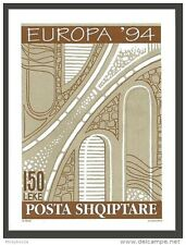 ALBANIA 1994 EUROPA DISCOVERIES & INVENTIONS SKETCH OF TRAFFIC PROJECT MNH