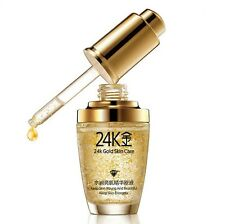 Genuine Bioaqua 24K Gold Skin Moisturizing Hyaluronic Acid Liquid Whitening 30ml