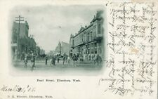 1908 Pearl Street, Ellensburg, WA Sepia UB Postcard Crosswise Writing on Back