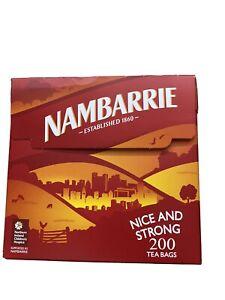 Nambarrie 200 tea bags. Genuine Northern Irish Tea Bags.
