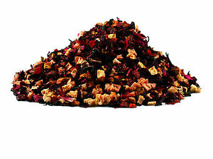 Raspberry-Cream Luxury Flavoured Fruit Loose Leaf Tea Blend (25g - 500g)