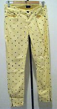 AUTHENTIC MOTHER JEANS Yellow FLEUR DE LOVE Size 28. Sold Out!