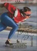 Bonnie Blair 1996 Upper Deck Autograph #79