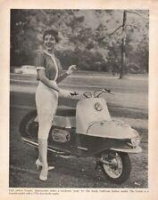 1960 Jawa Cezeta Motor Scooter - Vintage Motorcycle Ad