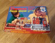 Vintage Thomas The Tank Engine Playset Wooden Jigsaw Michael Stanfield