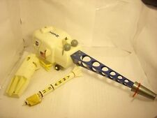 1969 VINTAGE  NASA. Marx linemar Moon Recovery Scout Helicopter space toys lot