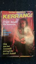 KERRANG No 152  DIO,OZZY,MOTLEY CRUE ETC