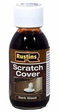 Rustins Scratch Cover for Dark Wood - 125ml Bees / Carnauba Wax Bottle