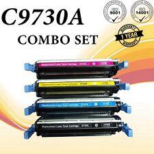 4PK Color Toner For HP C9730A 645A LaserJet 5500 5500DN 5500DTN 5550 Printer