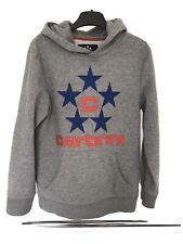 Carbrini Grey Blue Star Logo Hooded Sweater Hoodie Age 12-13 Years
