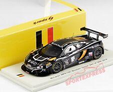 NUEVO 1/43 Spark SB100 McLaren mp4-12c GT3, 24 HRS Spa 2014 , #15