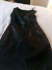 Zara dress m faux leather bodycon