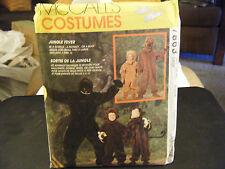 McCall's 7863 Adult's Gorilla, Bear & Monkey Costume Pattern - Size L (38-40)