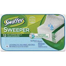 Procter & Gamble Swiffer Sweeper Wet Cloth Refill 12shts/PK White 95531