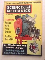 Science & Mechanics Mag New Auto Engine February 1962 090419nonrh