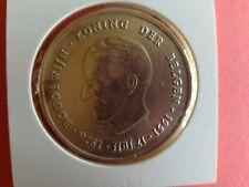 250 Fr 1976 Vlaamse versie 20,875 gram zilver gekartelde rand