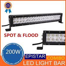 21.5inch 200W LED Work Light Bar Spot Flood Combo 12V 24V TRUCK SUV JEEP 5W/pc