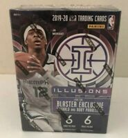 2019-20 PANINI ILLUSIONS NBA BASKETBALL BLASTER BOX SEALED ZION? MORANT?