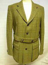 "Tweed Lambourne 'Swaine Adeney Brigg' Jacket 40"" Chest Made From Pure Wool"