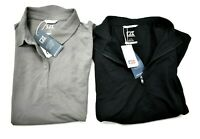 Lot Of 2 Cutter & Buck Mens Large Activewear Polo Sports Lifestyle Short Sleeve