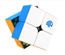 GAN 251M 2x2 Magnetic Magic Speed Cube Stickerless Puzzle Twist Intelligence Toy