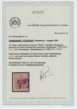 Gestempelte Briefmarken mit BPP-Fotoattest österreichische