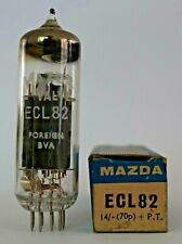 Mazda Foreign ECL82 Valve/Tube New Old Stock - 1 Piece C (V12)