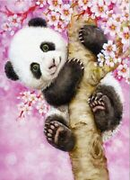 DIY Diamond Painting Part Drill Panda 5D Embroidery Cross Stitch Kits Art Decor