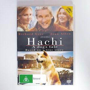 Hachi A Dogs Tale DVD Region 4 PAL Free Postage - True Story Drama