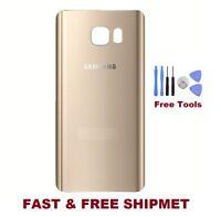 Gold Samsung Galaxy Note 5 N5 N920 N920F N920A Battery Door Back Cover + Tools