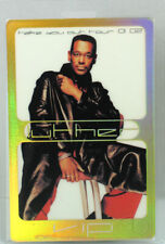 Luther Vandross 2001-2002 Take You Out Tour Laminated Backstage Pass