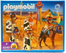 PLAYMOBIL 4245 EGYPT EGYPTIAN HORSE AND SOLDIERS *** NEW *** FREE P&P