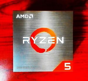 AMD Ryzen 5 5600X CPU 🔥 New & Sealed - Free 2 day Shipping 🚛💨