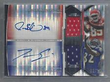 TORREY SMITH BALDWIN 2011 BOWMAN STERLING PULSAR REFRACTOR JERSEY AUTO RC #D /10