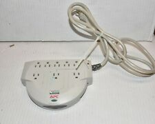 APC PER8T SurgeArrest Personal 8 Outlet w/Tel 120V Surge - TESTED WORKING