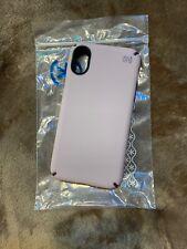 Speck Presidio Pro - iPhone XS / X - Meadow Pink/Vintage Purple