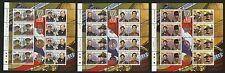 Isle of Man  2000   Scott # 861-863  Mint Never Hinged Sheet Set