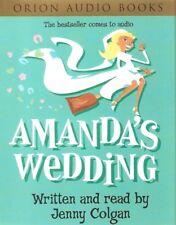 Jenny Colgan - Amanda's Wedding (2xCass A/Book 2000) FREE UK P&P