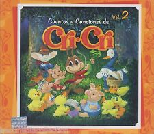 Cuentos Y Canciones De Cri Cri CD NEW Vol 3 Incluye -65 Canciones 3 CDs SEALED